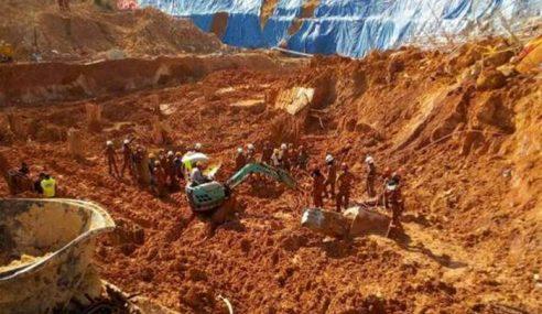 Tanah Runtuh: Operasi Cari, Selamat Masuk Hari Ke-3