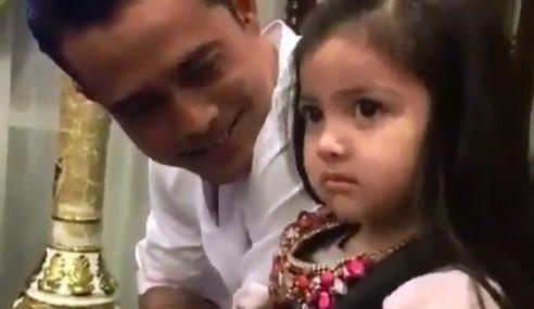 Aaisyah Malu Dengan Zul Ariffin, Alahai Comelnya!