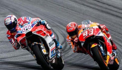 MotoGP: Dovi, Marquez Menyerlah Latihan Bebas Kedua