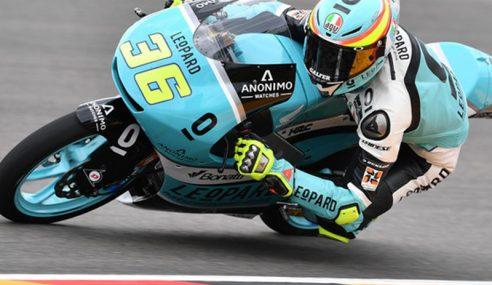 Juara Dunia Moto3 Joan Mir Raih Petak Pertama