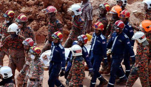 Tanah Runtuh: Operasi Cari, Selamat Dihentikan