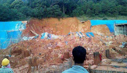 Tanah Runtuh: MU & PFP Buat Laporan Polis