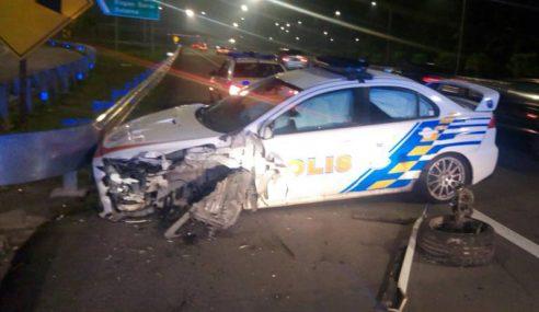 Dua Anggota Polis Cedera Kejar Penjenayah