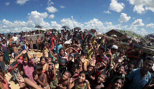 Kesal Tidak Banyak Negara Simpati Umat Islam Rohingya