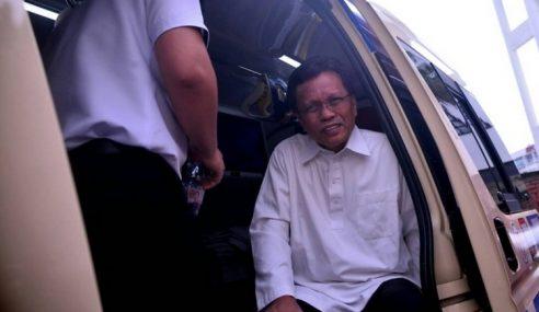 Seleweng Dana: Shafie Naik Ambulans Direman 4 Hari