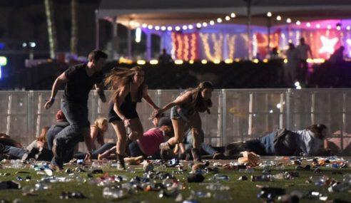 Lebih 50 Maut Kejadian Tembakan Di Las Vegas