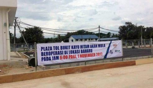 Isu Plaza Tol Baru, PLUS Jelas Cuma Setakat 31 Disember