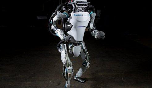 Humanoid Robot Khidmat Di Olimpik Pyeongchang