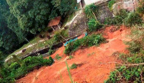 Tanah Runtuh: 35 Terperangkap Di Bukit Bendera