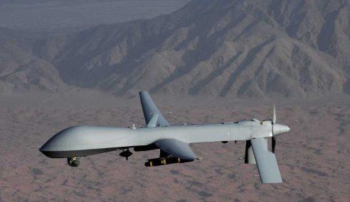 AS Lancarkan Dron Serang Daesh Di Somalia