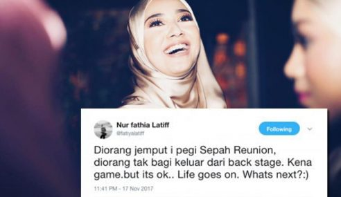 Siti Elizad Ganti, Fathia Latiff Sedih Dipermainkan?