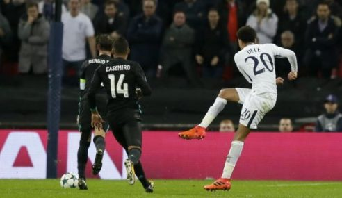 Gol Alli Tewaskan Real Madrid
