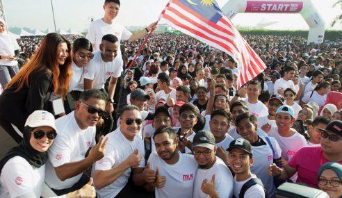 40,000 Belia Sertai Malaysian United Run 2017