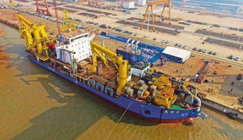 Pantau Kapal Korek Terbesar China