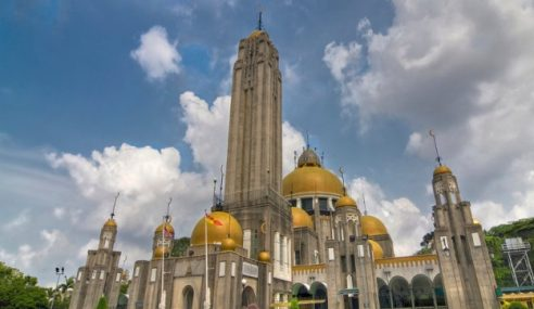 Sultan Selangor Buka Semula Masjid Diraja Sultan Suleiman