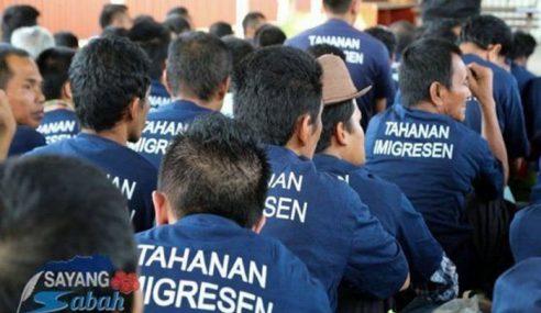 5,392 Warga Asing Ditahan Di Pusat Tahanan Sabah