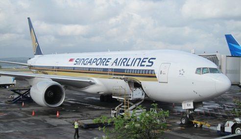 SIA Batal 5 Penerbangan Ke Bali Hari Ini