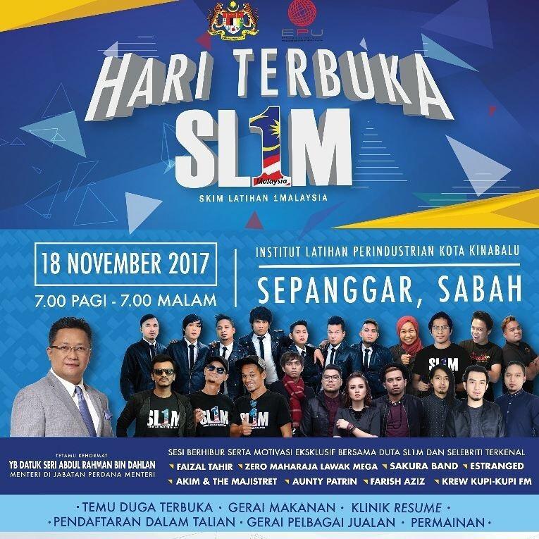 Hari Terbuka SL1M, Peluang Untuk Graduan Sabah