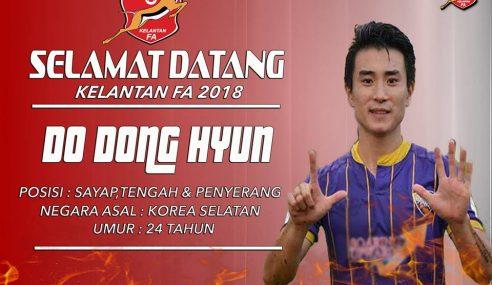 Do Dong-Hyun Pemain Import Kedua Kelantan