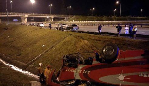 27 Cedera Dalam Insiden Bas Terbalik Di Rawang