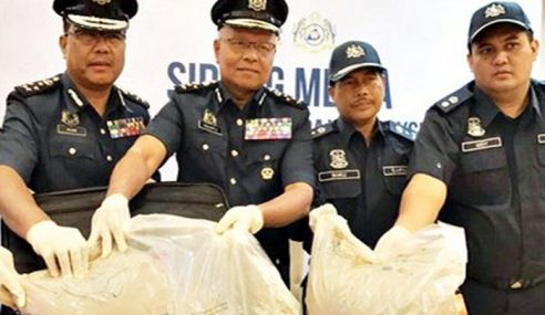 Lelaki Bawa Dadah 20kg Bernilai RM900k Dicekup