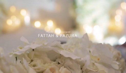 Cantik Bak Bidadari, Video Tunang Fattzura Terus Dipuji