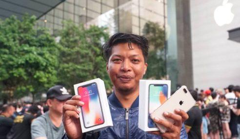 Beratur 3 Hari Untuk Beli IPhone X Dan Kemudian…