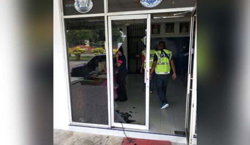 Penagih Dadah Khianat Di Balai Polis Gopeng Ditahan