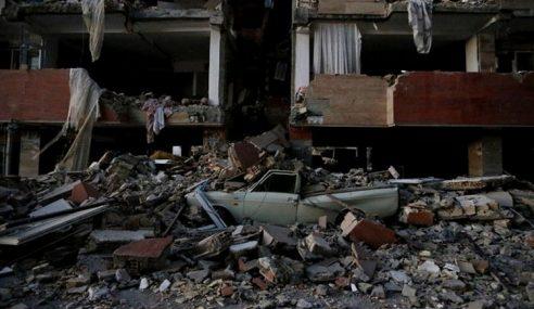 Gempa Terkuat Di Iran, Lebih 300 Maut, Lagi 4,000 Cedera