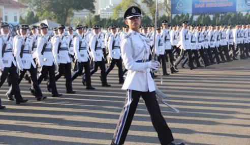 PDRM Rekrut 6,000 Anggota Baharu Tahun Depan