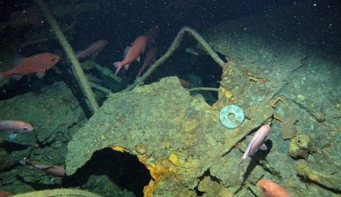 Bangkai Kapal Selam Perang Australia Dijumpai