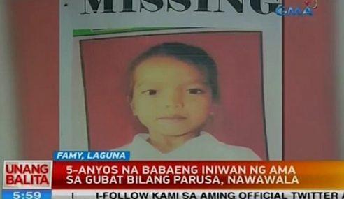 Budak 5 Tahun Hilang Lepas Ditinggalkan Bapa Di Hutan