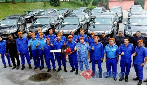 APM Johor Terima 5 Aset Baharu