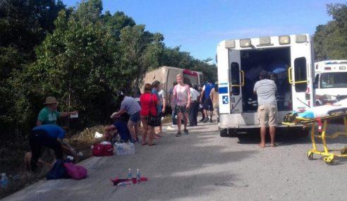 11 Maut, 20 Cedera Bas Terbabas Di Mexico