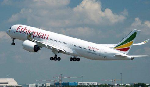 KLIA Terima Dreamliner Pertama Ethiopian Airlines