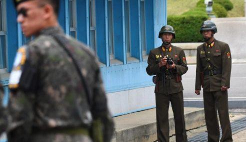 Tentera Korea Utara Belot Cedera Ditembak Dipindah