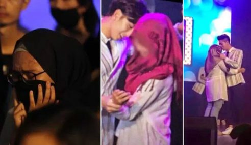 Gadis 'Peluk' Kpop Hadiri Majlis Berkabung Joghyun?