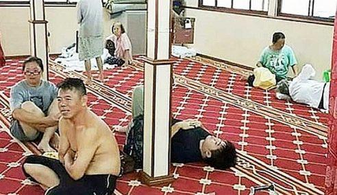 Tiada Masalah Bukan Islam Guna Masjid Masa Banjir