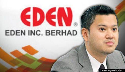 Anak Muhyiddin Tinggalkan Eden Inc. Bhd.