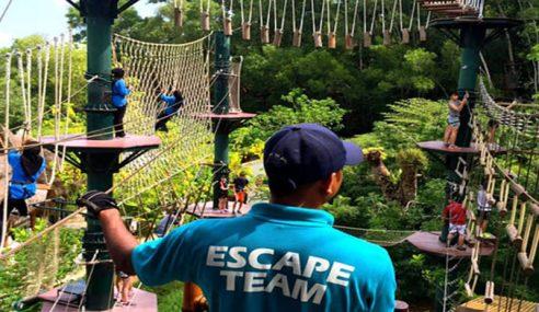 Fasa Ketiga Taman Tema Escape Dibuka Akhir 2018