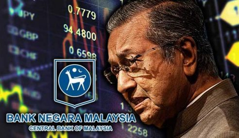 Rizab BNM 'Lesap' RM30 Bilion Sejak PH Berkuasa
