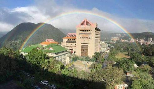 Taiwan Catat Rekod Pelangi Paling Lama Di Dunia