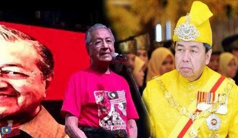 Sultan Selangor Sifatkan Mahathir Amat Berbahaya