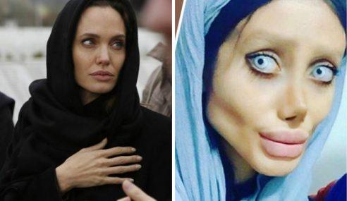 Demi Angelina Jolie, Wanita Ini Sanggup Digelar Zombie