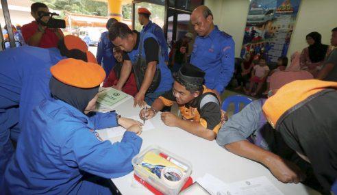 Jumlah Mangsa Banjir Di Pahang Kekal 284 Orang
