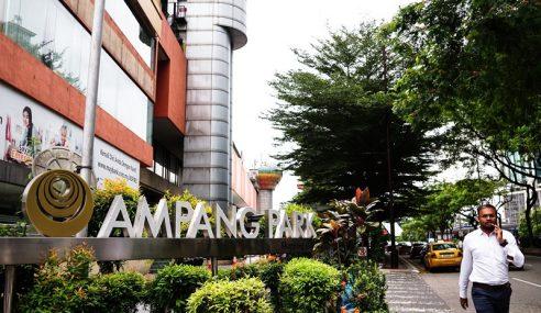 MRT Nafi Jalankan Sebarang Aktiviti Di Ampang Park