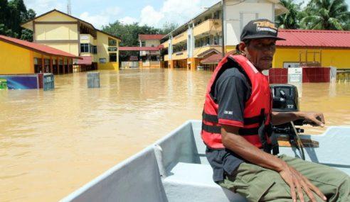 Pahang: Hujan Berterusan, Mangsa Banjir Meningkat