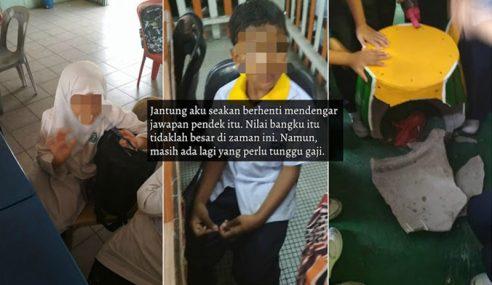 """""""Dia Comot, Pakai Tudung Tutup Dahi"""" – Guru Prihatin"""
