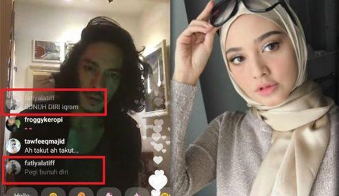 Fathia Minta Maaf Isu 'Gurau' Kasar Terhadap Iqram