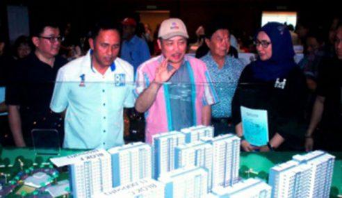 Lebih Banyak Rumah Mampu Milik Di Sabah